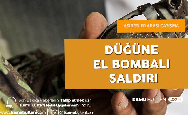 Afgan Düğününe El Bombalı Saldırı: 20 Kişi Yaralandı