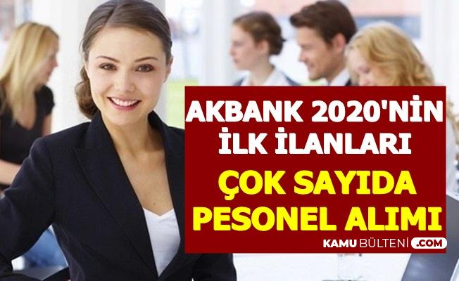 Akbank 2020 İş İlanları Yayımlandı: 3-4 Bin TL Maaşla Çok Sayıda Banka Personeli Alımı