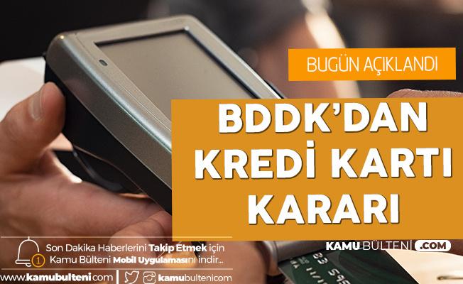 BDDK'dan Kredi Kartı Düzenlemesi: Taksit Süresi Düşürüldü
