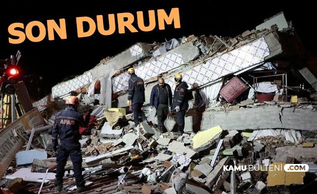 Deprem Sonrası Elazığ ve Malatya'da Son Durum 27 Ocak 2020