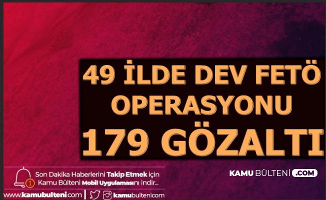 Dev FETÖ Operasyonu: F-16 Pilotları , Jandarma Komutanları Dahil 179 Gözaltı
