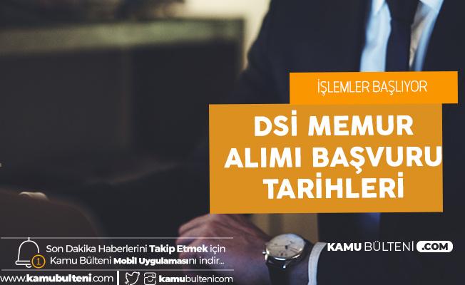 DSİ Memur Alımı Başvuruları Çarşamba 8-17 Ocak Tarihlerinde Alınacak