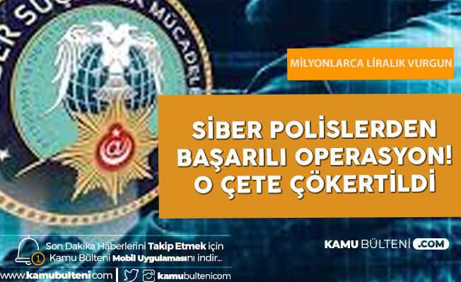 EGM Siber Suçlarla Mücadele Daire Başkanlığı Siber Hırsızları Tek Tek Yakaladı! 33.5 Milyonluk Vurgun Yapmışlar...