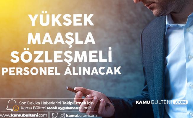 İstanbul Üniversitesi'ne Yüksek Maaşla Sözleşmeli Personel Alımı Yapılacak