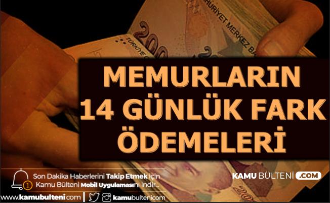 Memurların 14 Günlük Fark Ödemesi Hesaplara Yatıyor-Enflasyon Farkı Ne Kadar?