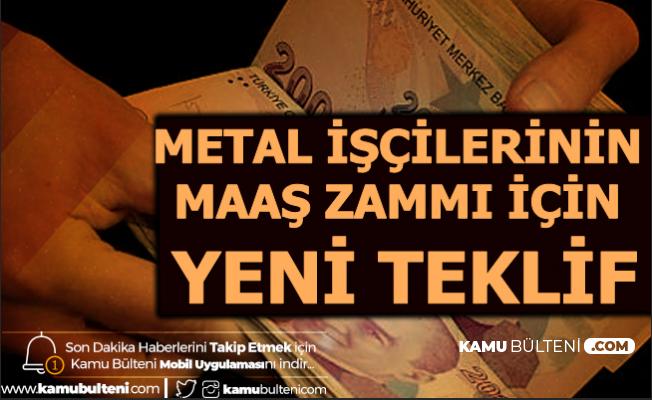 Metal İş ve MESS Görüştü: Metal İşçilerinin Maaş Zammı İçin Yeni Teklif