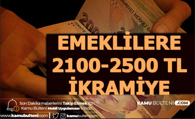 Müjde Geldi: Emeklilere 2100-2500 TL Banka Promosyonu 2020