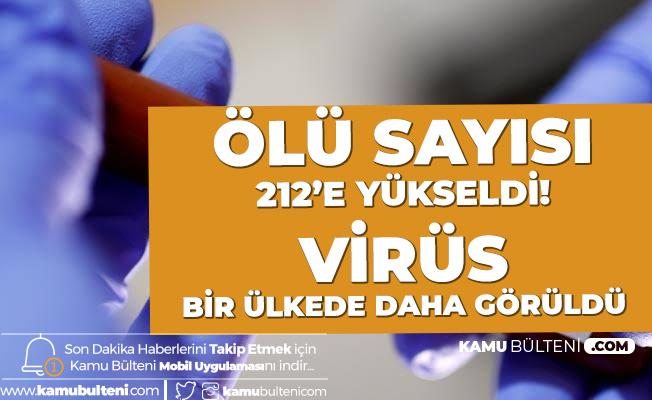 Ölü Sayısı 217'e Yükseldi! İngiltere'den açıklama! Koronavirüsü 2 Kişide Görüldü