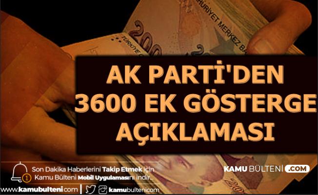Son Dakika: AK Parti'den Ek Gösterge ve Kamuda Esnek Çalışma Açıklaması