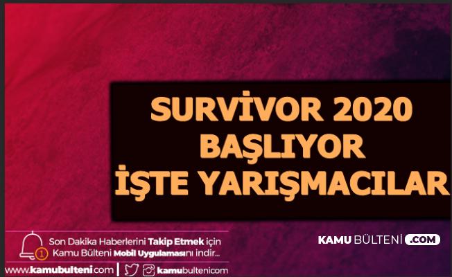 Survivor 2020 Başlıyor - 3 Ünlü Belli Oldu (Sörvayvır Ne Zaman?)