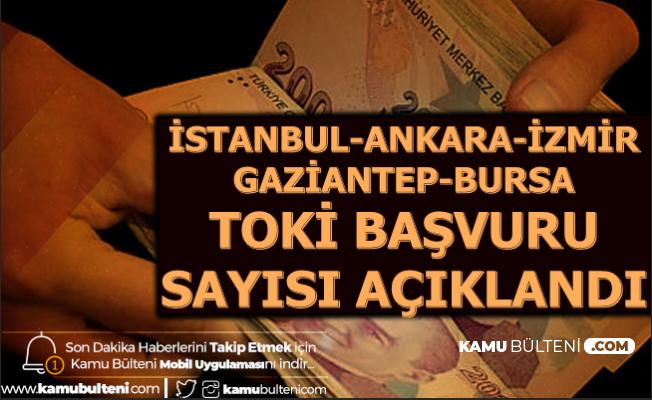 TOKİ Kura Çekimi Ne Zaman? İşte Ankara-İstanbul-İzmir-Gaziantep-Bursa Başvuru Sayısı