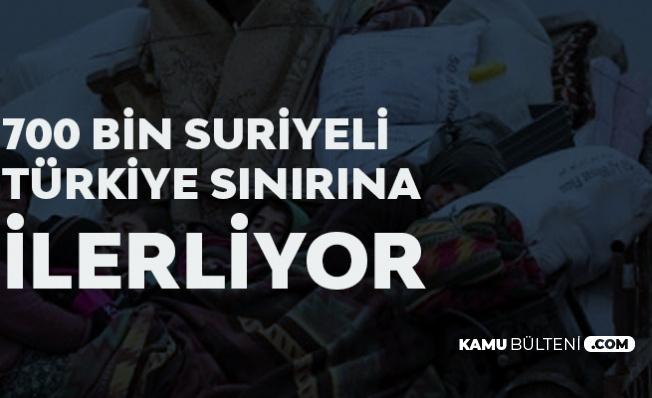 700 Bin Suriyeli Türkiye Sınırına Geliyor