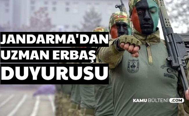Art Arda 2 Duyuru: Jandarma Uzman Erbaş Duyurusu 2020