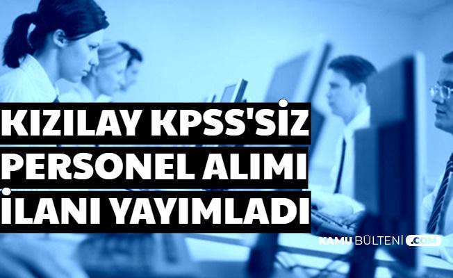 Bu Bölümlerden Mezun Olanlar: KPSS'siz Personel Alımı Başvurusu Başladı