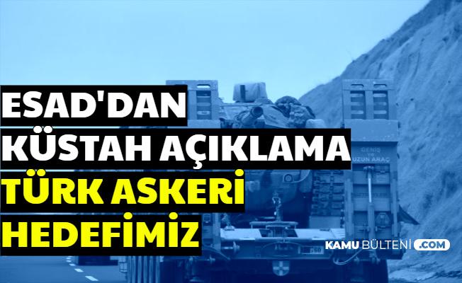 """Esad'dan Küstah Açıklama: """"Türk Askerlerini Hedef Alacağız"""""""