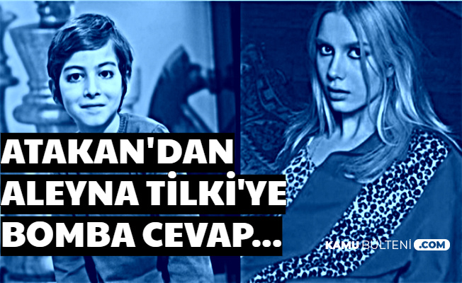 Filozof Atakan'dan Aleyna Tilki'ye Flaş Cevap