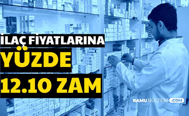 Flaş: İlaç Fiyatlarına Yüzde 12 Zam Geldi