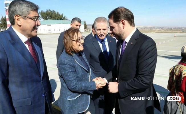 Hazine ve Maliye Bakanı Gaziantep'te İş Dünyası ile Buluştu