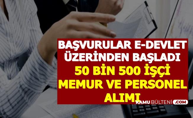 İŞKUR Duyurdu: 50 Bin 500 Personel Alımı Başvurusu e-Devlet'ten Başaldı