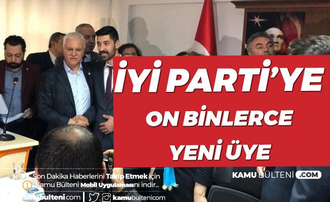 Koray Aydın Rakamları Açıkladı! İYİ Parti'ye 278 Bin Üye