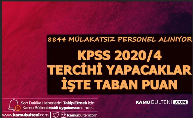 KPSS 2020/4 Tercihi Yapacaklar Dikkat: İşte Son Atamadaki Taban Puanlar