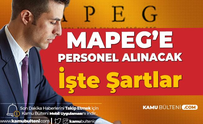 MAPEG'e Personel Alımı Yapılacak! Başvurular Sürüyor
