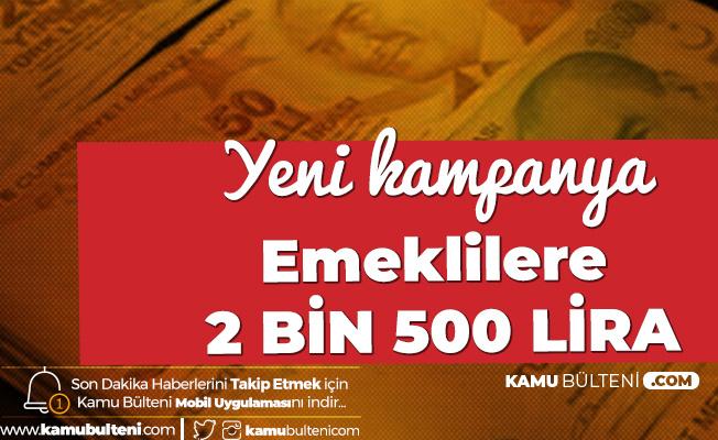 TEB'den Emeklililere 2 Bin 500 Lira Promosyon