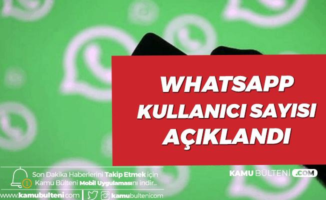 Whatsapp'ın Kullanıcı Sayısı Açıklandı!