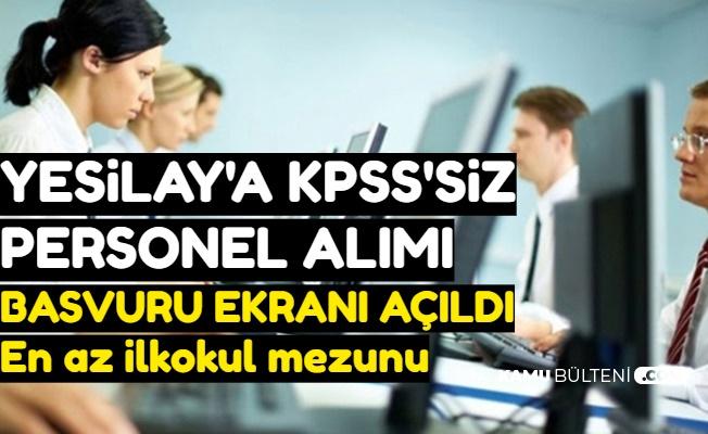 Yeşilay KPSS'siz Personel Alımı Yapıyor: Başvuru Başladı