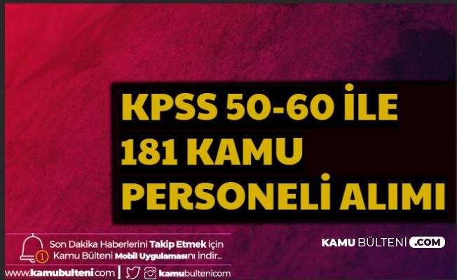Balıkesir ve İstanbul Üniversitesi 181 Personel Alımı Yapacak 50 KPSS ile Mülakatsız