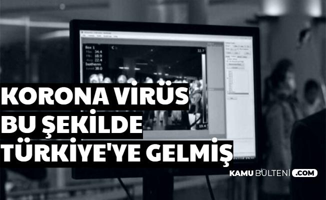 Belli Oldu: Corona Virüsü Bu Yolla Türkiye'ye Gelmiş