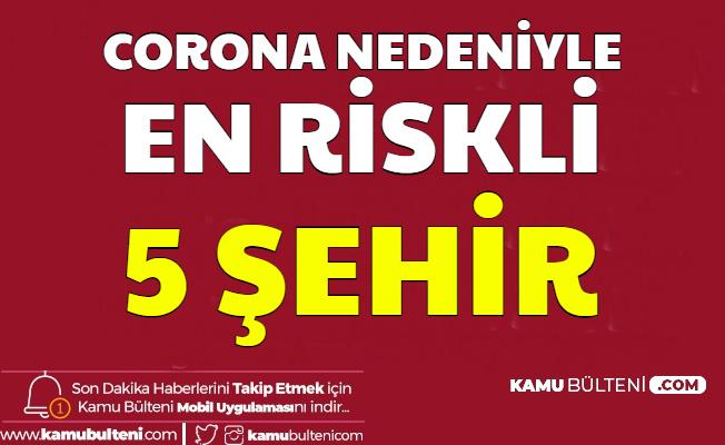 Corona Nedeniyle Türkiye'deki Riskli 5 Şehir Açıklandı (Korona Ne Zaman Bitecek?)