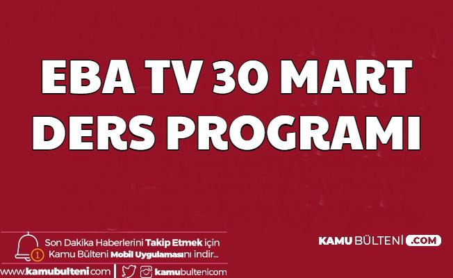 Eba Tv 30 Mart 2020 Ders Programı ve Kanal Ayarlama Frekansları E Okul ile EBA Girişi