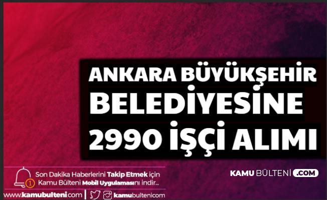 İŞKUR'da Yayımlandı: 2 Bin 990 İşçi Alımı Başvurusu Başladı