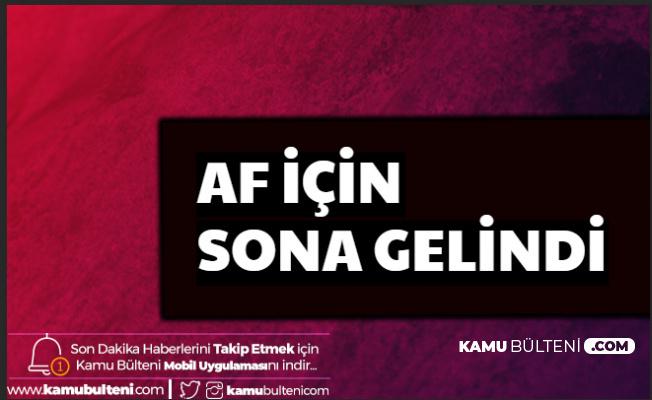 Mahkumlara Af İçin Flaş Haber: Erdoğan Devreye Girdi