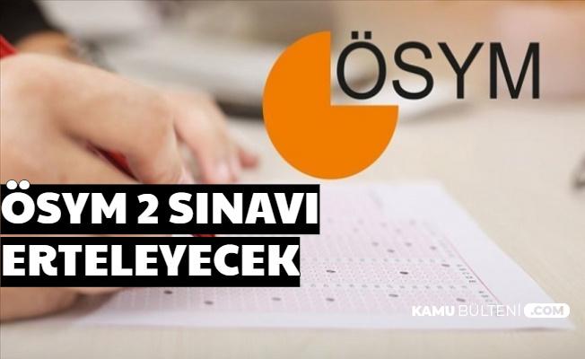 ÖSYM Başkanı Açıkladı: MSÜ ve EKPSS Ertelendi (Sınavlar Ne Zaman Yapılacak Yeni Tarih Belli mi?)