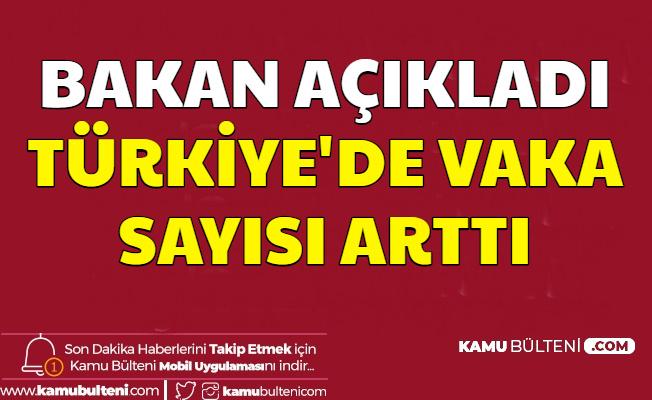 Son Dakika Haberler... Fahrettin Koca: Türkiye'de Corona Virüsü Vaka Sayısı Arttı