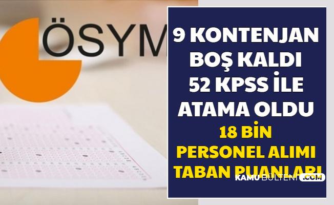 18 Bin Personel Alımında 9 Kontenjan Boş Kaldı 52-53 KPSS ile Atama Oldu (Perfüzyonist Nedir?)