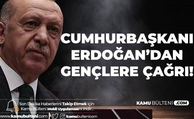 """Cumhurbaşkanı Erdoğan'dan Gençlere Çağrı! """"Geleceğin Mesleği Olacak, Özgeçmişinizi Kaydedin"""""""