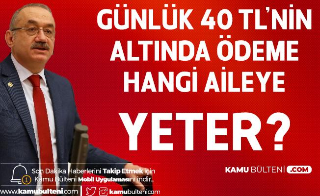 İYİ Parti Kalkınma Politikaları Başkanı İsmail Tatlıoğlu: Günlük 40 Liranın Altında Bir Ödeme Hangi Aile için Yeterli Olur?