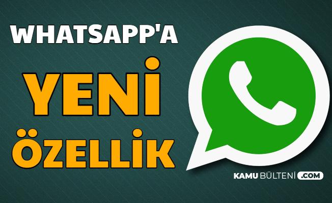 Korona Nedeniyle WhatsApp'a Yeni Özellik Geldi