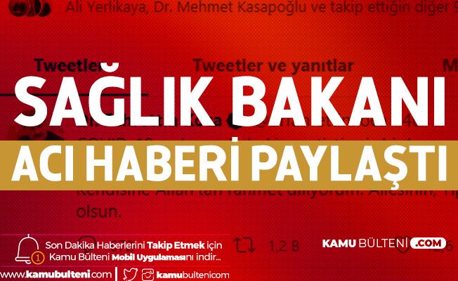 Sağlık Bakanı Fahrettin Koca Acı Haberi Paylaştı: Prof. Dr. Feriha Öz'ü Kaybettik