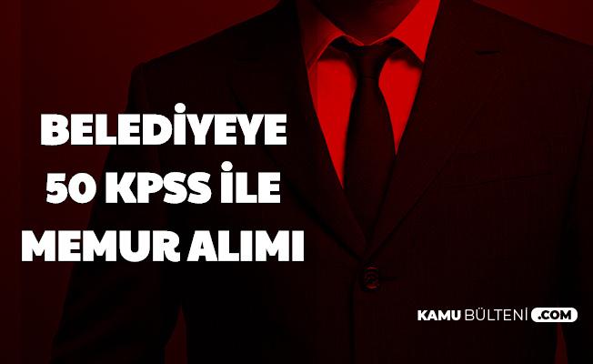 Şenkaya Belediyesi 50 KPSS ile Memur Alımı Yapacak