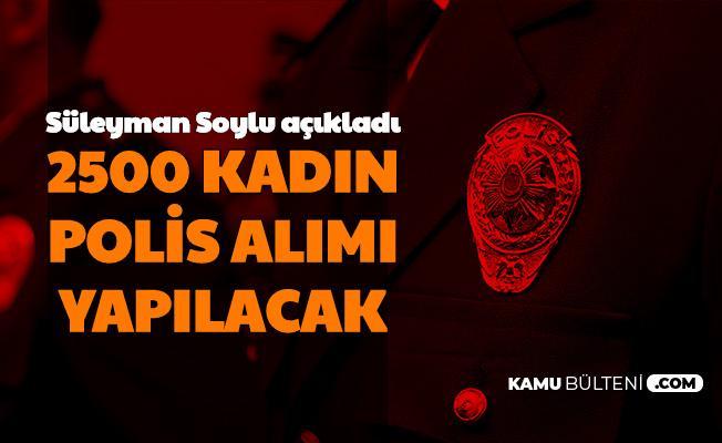 2500 Kadın Polis Alımı Yapılacak
