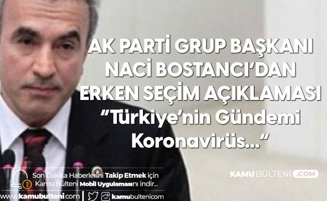 AK Parti'den Erken Seçim İddialarına Yanıt Geldi