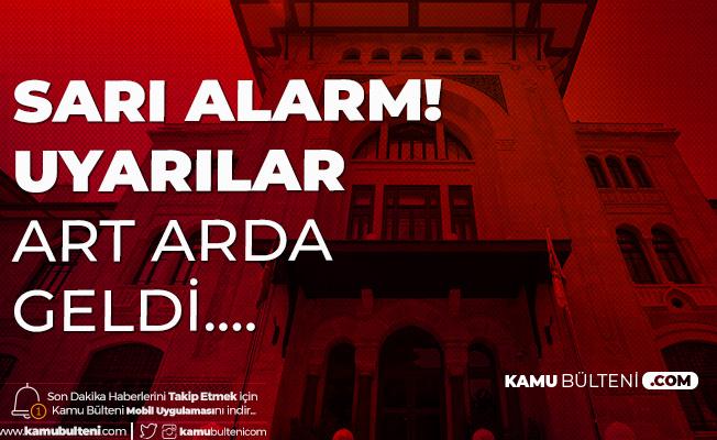 Ankara'da Sarı Alarm! Valilik'ten Uyarılar Art Arda Geldi