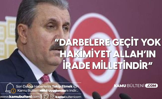 BBP Lideri Destici'den Canan Kaftancıoğlu'na Sert Tepki!