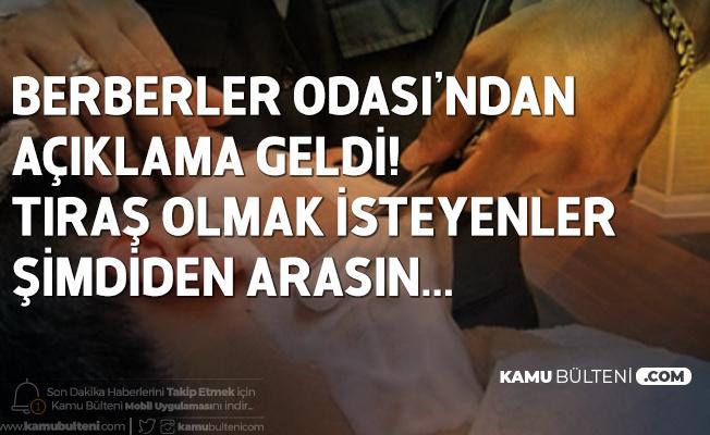 Berberler Odası Başkanından Açıklama: Usturayla Sakal Tıraşı Yasaklansın