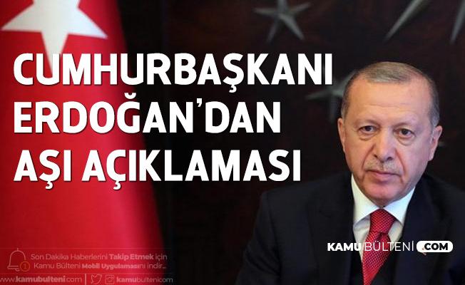 Cumhurbaşkanı Erdoğan'dan Kovid-19 Aşısı için Çağrı: Tüm İnsanlığın Ortak Malı Olmalıdır