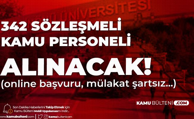 İnönü Üniversitesi'ne 342 Sözleşmeli Kamu Personeli Alımı için Başvurular Sürüyor